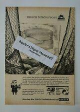 Werbeanzeige/advertisement A5: TIKO-Tiefkühlkost Im Konsum 1963 (26071670)