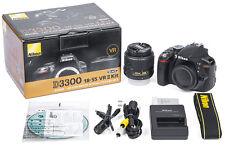 Mint Nikon D3300 24.2 MP DSLR Camera Kit AF-S DX NIKKOR 18-55mm f/3.5-5.6G VR II