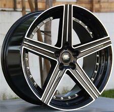"""SET(4) 20"""" 20X8.5/10 5X120 MST Staggered Wheels F10 F13 528 535 550 640 650"""