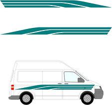 673 - Camper Van Graphics, Motor Home Vinyl Graphics Kit, Decals / Stickers.