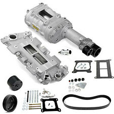 Weiand 7740-1 144 Series Supercharger Kit Small Block Chevy 10-Rib Pulley Width