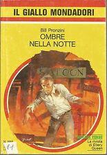 (Bill Pronzini) Ombre nella notte 1985 il giallo Mondadori n.1916
