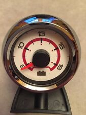 MASTERCRAFT BOAT~MEDALLION WHITE VOLT METER~BATTERY~GAUGE~X STAR~8620-00059-19