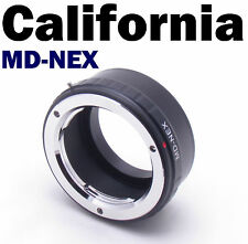 MD-NEX Minolta SR MC Sony Alpha E Mount NEX 7 5 II 7R 5N 5C 3 VG10 20 30 Adapter