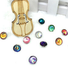 NEW 10Pcs12mm Mix AB Charm Chunk Snap Button fit for Noosa Leather Bracelets !