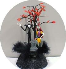 Nightmare before Christmas Wedding Cake topper Sally Jack DISNEY Halloween TREE