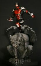 DAREDEVIL ARMORED STATUE ON GARGOYLE BY BOWEN DESIGNS