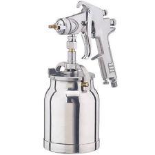 Clarke Pulverizador de pistola de aire 1 litros Sifón Taza 1.8mm externo