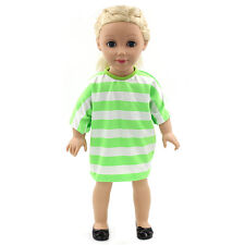 "Fits 18"" American Girl Madame Alexander Handmade Doll Clothes dress MG169"