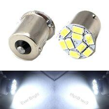 50X Cold White 1156 BA15S 1141 5730 9 SMD LED Stop Brake Turn Signal Light 12V