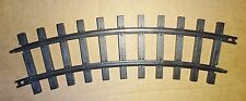 NEW BRIGHT CURVED G SCALE PLASTIC TRACK-PURCHASE THE AMOUNT YOU NEED USED