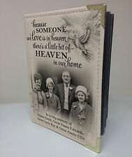 In loving memory, personalised photo album, memory book.