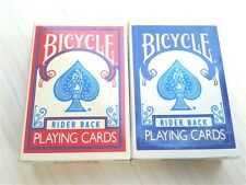 Bicycle Rider Back Playing Cards - 2 Decks  Mini Miniature 404 A