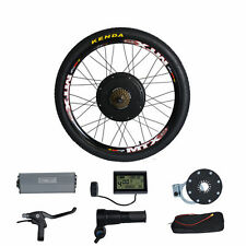 48V1500W Electric Bike Conversion Kit 26 MTB Bicycle Rear Wheel Motor
