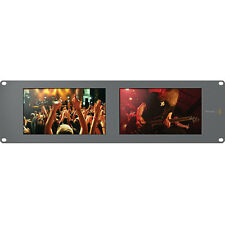 Blackmagic Design SmartView Duo Dual 8-inch SDI LCD Rack Monitors