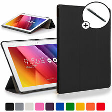 Forefront Cases® Black Folding Smart Case Cover for ASUS Zenpad Z300C + Stylus