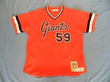 Juan Porky Lopez 1999 San Francisco Giants 1978 style TBTC game used jersey