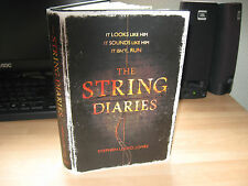 Stephen Lloyd Jones - String Diaries *Signed Lined Publication Dated* 1st debut