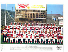 1985 BUFFALO BISONS 8X10 TEAM PHOTO AAA CHICAGO WHITE SOX