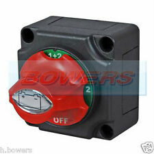 12V / 24V Marine 4 position passage batterie Languette cut off kill switch