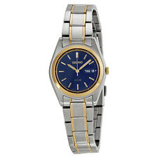 Seiko Solar Two-tone Ladies Watch SUT110