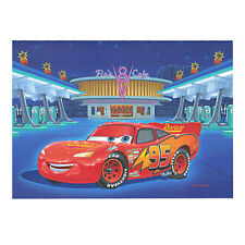 "Disney ""PIT STOP AT FLO'S"" Size: 13 x 17 