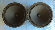 "PAIR  JENSEN P15 LS 15"" 15 OHM DRIVER, IMPERIAL, TESTED COND FROM HEATHKIT SS1B"