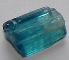 Pretty Blue Indicolite Tourmaline Crystal Rough 1.05 Carats