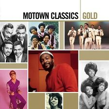 MOTOWN GOLD SAMPLER 2 CD JACKSON 5 UVM NEW+!!!!