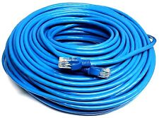 Blue 200 FT Foot 60M Cat5e Patch Ethernet LAN Network Router Wire Cable Cord NEW