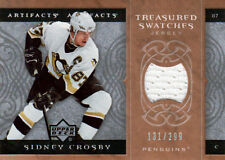 07-08 Artifacts Treasured Swatches xx/299 Made! Sidney CROSBY - Penguins