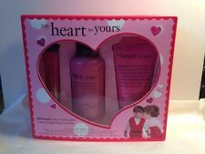 Philosophy ~ MY HEART TO YOURS GIFT SET ~ Shower Gel, Body Lotion, Lip Shine~NEW