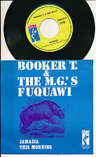 "BOOKER T. & THE M.G.'S 45 TOURS 7"" BELGIUM JAMAICA THIS MORNING"