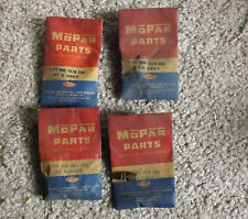 NOS 1955-56 Plymouth 8 Cyl Main Carb Metering Jets # 1618220, 1618219