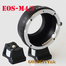 Canon EOS EF Lens to Micro 4/3 M4/3 M43 Mount Adapter EP1 G1 GH1 GF1 With Tripod