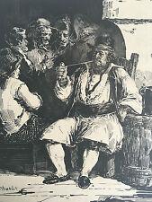 Litho XIX Signé Charlet Toussaint Nicolas Boulvard des Italiens n°5