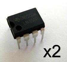 2x LM358P 8 broches amplificateur double FA / 2pcs LM358P dual amplifier 8 pins