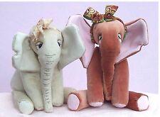 Abigail éléphant sewing pattern par pcbangles. tissu jouet doux elephant pattern