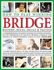 """Learn to Play Winning Bridge"" Large Hardcover by David Bird; NEW Imperfect"
