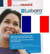 ***NEW FRENCH, PREPAID SIM card. For FRANCE. 1Є credit included. Travel.**