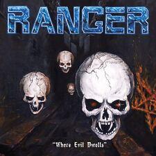 RANGER - Where Evil Dwells (LIM. BLACK VINYL*SPEED METAL KILLER*FIN*AGENT STEEL)