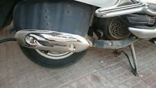 HONDA ACTIVA 100 / 125 DECORATIVE METAL CHROME SILENCER COVER GARNISH ALL MODELS