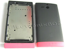 Fascia Housing Back Battery Cover For S.ERIC Xperia U ST25 ST25i Pink