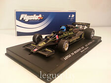 Slot car SCX Scalextric Fly 058107 Lotus 78 John Player  G.P. Austria 1978 Nº6