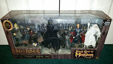 Black Gate Of Mordor The Lord Of The Rings Sauron Steed Toybiz LOTR SEALED MISP