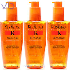 KERASTASE Nutritive Serum Oleo - Relax 125 ml  Smoothing Elixir (Pack Of 3)