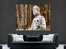 Gran Buda enorme cartel Grande De Pared Arte Imagen
