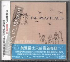 Janet Seidel Trio & Friends: Far away places (2014) CD OBI TAIWAN