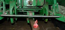 """Oliver White Tractor Made in USA 3-Point Arm Control Spring 22 1/2"""" Long Plated"""
