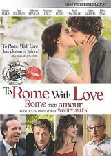 To Rome With Love NEW SEALED DVD